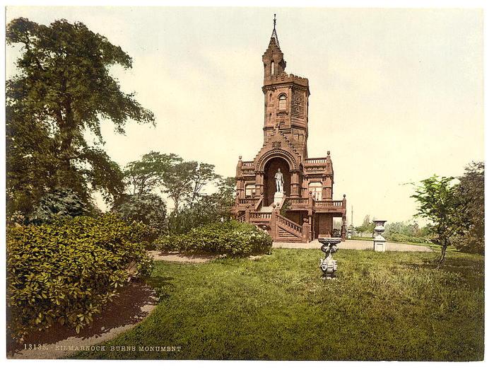 Национальный памятник Роберту Бёрнсу. Маухлайн, Шотландия. (700x523, 98Kb)