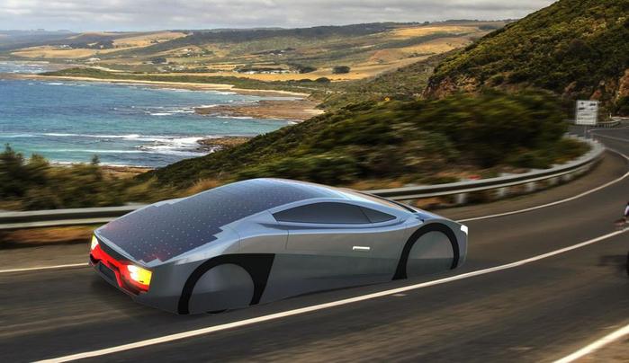 автомобиль на солнечной энергии Immortus EVX Ventures 1 (700x404, 286Kb)