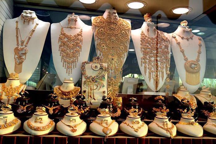 Золотой рынок Дубая   Прекрасные фотографии