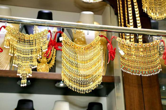 Золотой рынок Дубая - Прекрасные фотографии