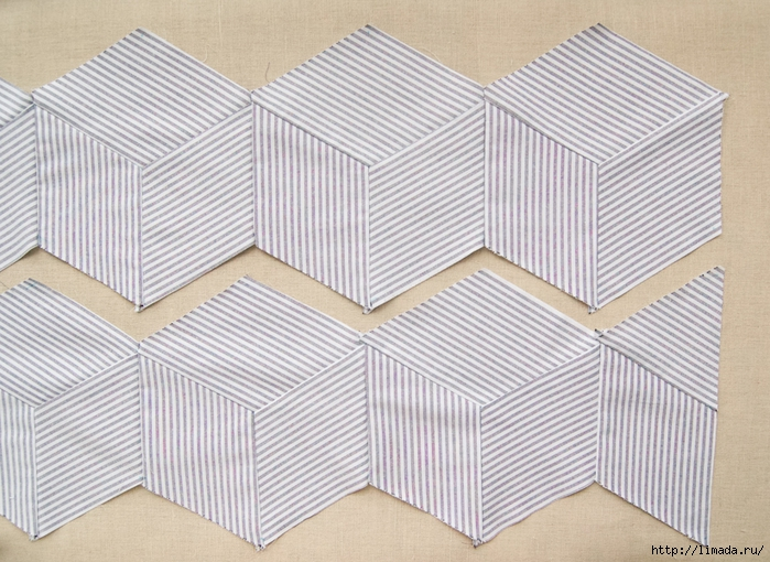 Striped-Tumbling-Blocks-Quilt-How-Tos-600-6 (700x510, 317Kb)