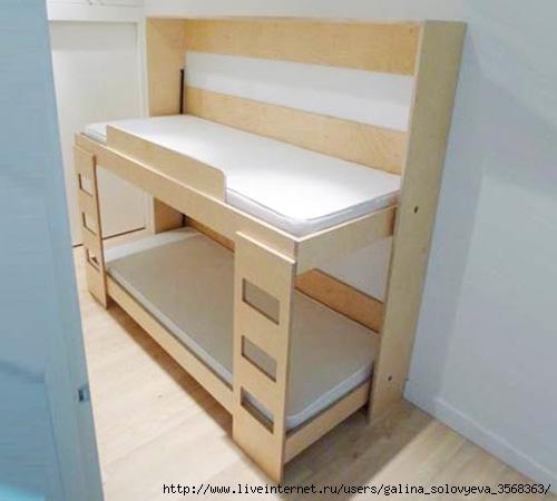 Кровать складная своими руками