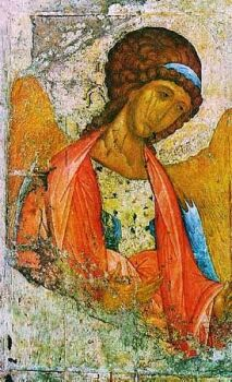 архангел михаил/3881693_Mihail_ris__Rybleva (213x350, 28Kb)