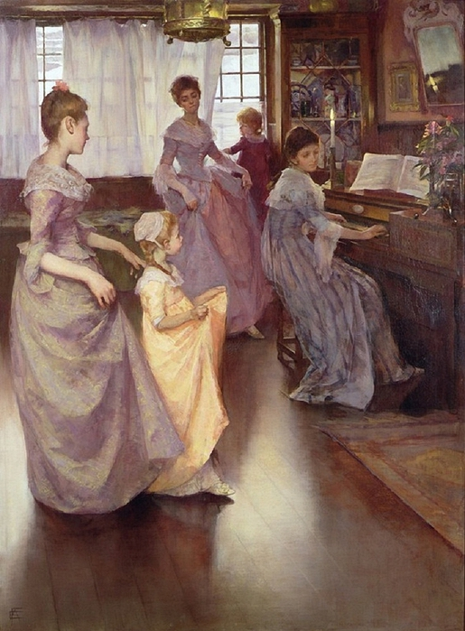 elisabeth-adele-stanhope-forbes-canadian-1859-1912.the-minuet-1892-by- (515x700, 279Kb)