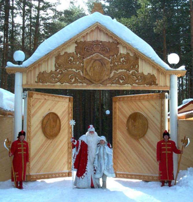 Veliky Ustyug, zemlja Deda Moroza