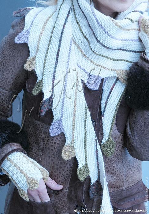 """针织配饰套装:""""业力"""" - maomao - 我随心动"""