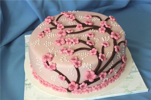 рецепты тортов украшенных мастикой с фото украина