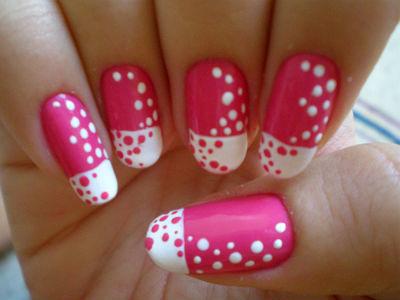 И просто красивые рисунки на ногтях.