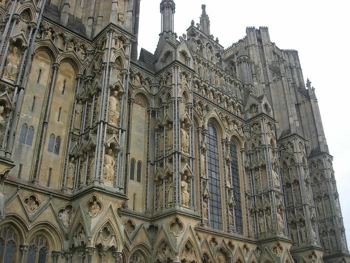 """Собор в Уэльсе - """"самый поэтический из английских Соборов""""- часть 1. 28567"""