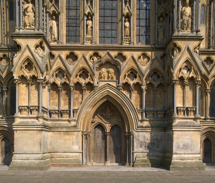 """Собор в Уэльсе - """"самый поэтический из английских Соборов""""- часть 1. 96272"""