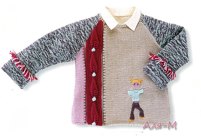针织:男孩毛衣2 - maomao - 我随心动