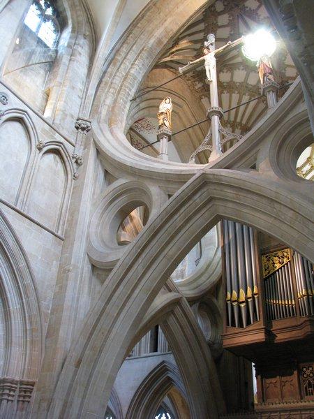 """Собор в Уэльсе - """"самый поэтический из английских Соборов""""- часть 1. 25420"""