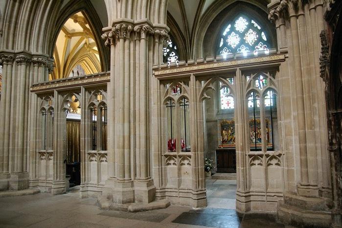 """Собор в Уэльсе - """"самый поэтический из английских Соборов""""- часть 1. 29783"""