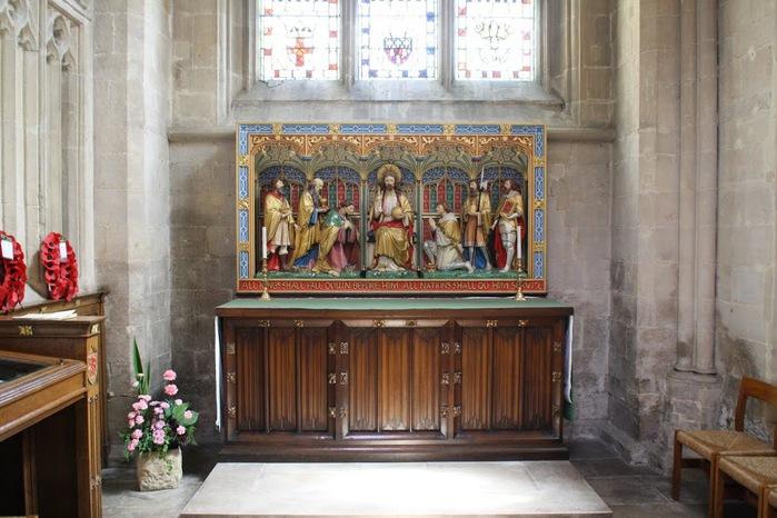 """Собор в Уэльсе - """"самый поэтический из английских Соборов""""- часть 1. 10773"""