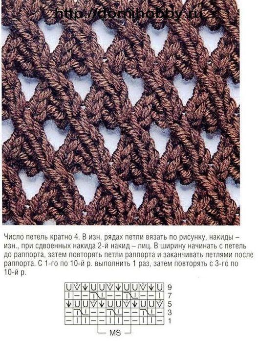 сетчатый-узор-спицами-2 (528x700, 115Kb)