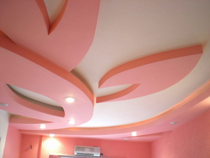 Потолок из гипсокартона Поделки к дню матери