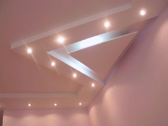 Двухуровневый потолок из мдф