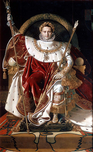 370px-Ingres,_Napoleon_on_his_Imperial_throne (370x600, 84Kb)