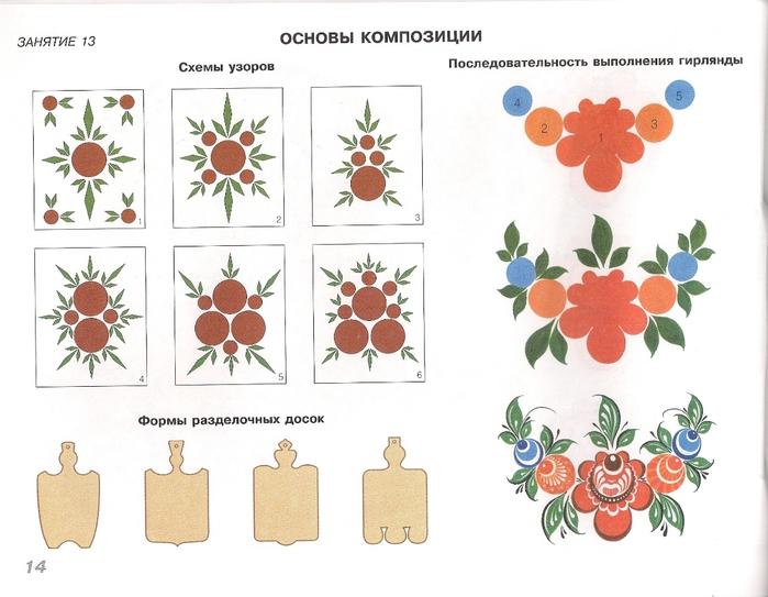 Городецкая роспись0015 (700x543, 216Kb) .