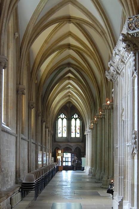 """Собор в Уэльсе - """"самый поэтический из английских Соборов""""- часть 1. 66068"""