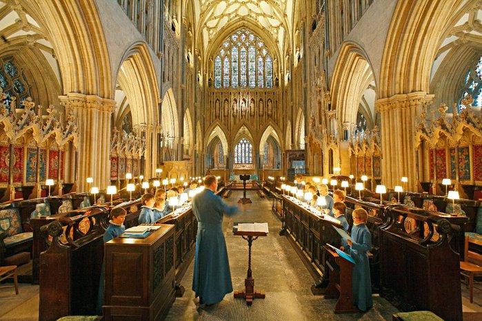 """Собор в Уэльсе - """"самый поэтический из английских Соборов""""- часть 1. 12203"""