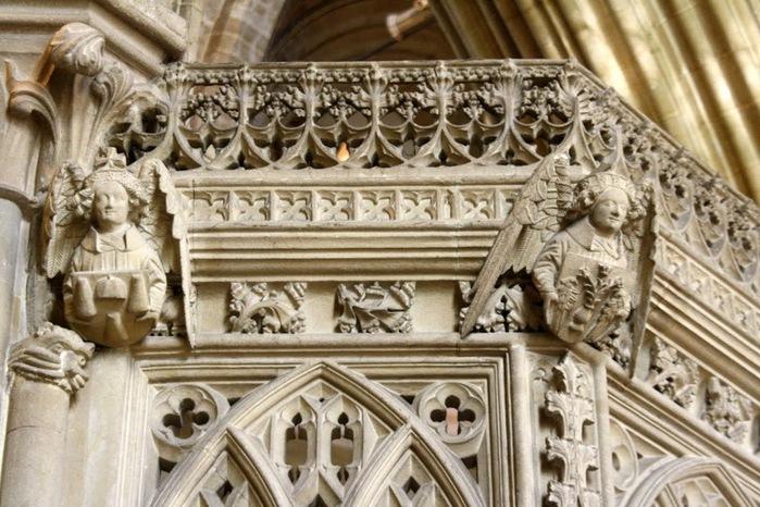 """Собор в Уэльсе - """"самый поэтический из английских Соборов""""- часть 1. 35635"""