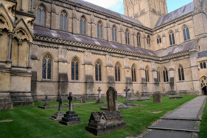 """Собор в Уэльсе - """"самый поэтический из английских Соборов""""- часть 1. 75797"""