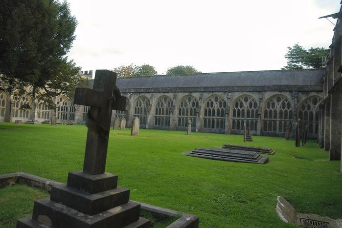 """Собор в Уэльсе - """"самый поэтический из английских Соборов""""- часть 1. 57593"""