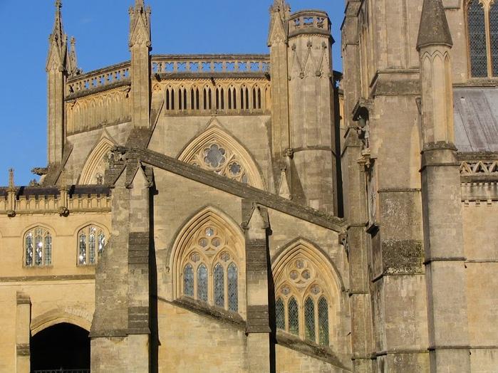 """Собор в Уэльсе - """"самый поэтический из английских Соборов""""- часть 1. 69875"""