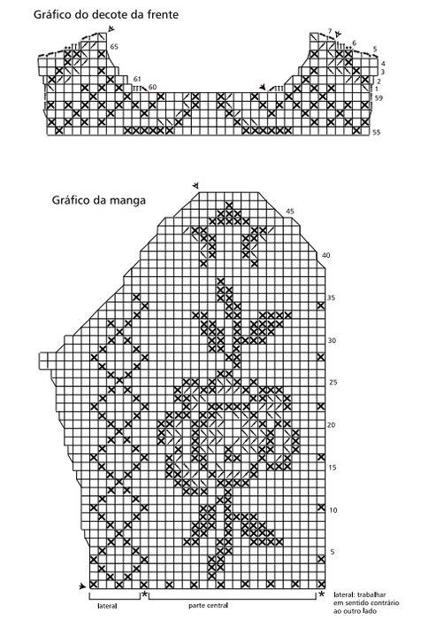 схема рукав кофты (476x700,