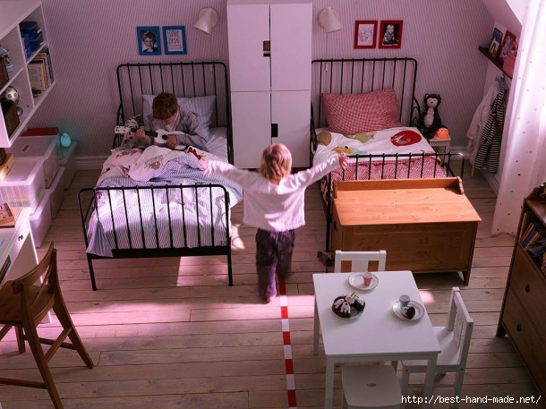 2011-Shared-Kids-Room-02-610x457 (610x457, 172Kb)