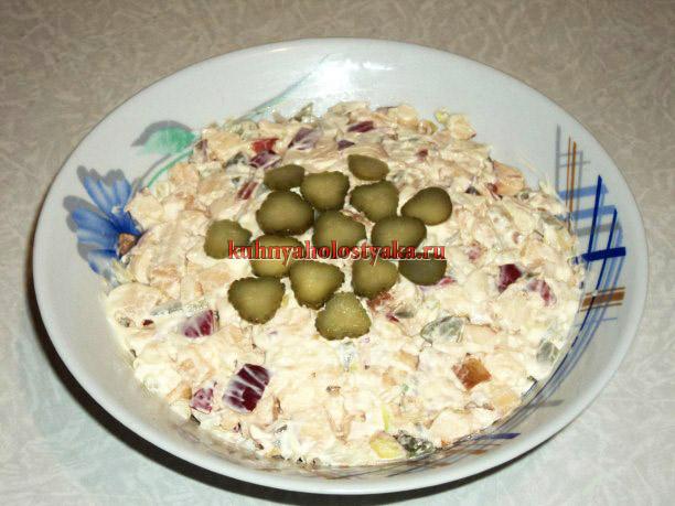 salat iz iablok s soleny`mi ogurtcami (4) (612x459, 87Kb)