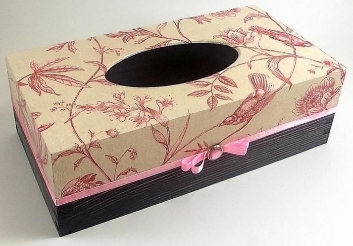 Как сделать коробку с салфетками 144