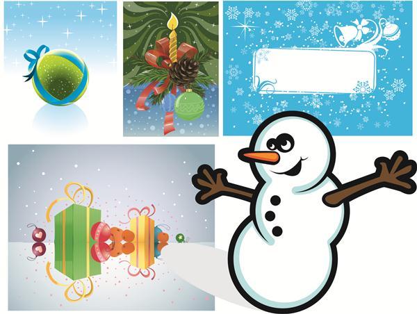Новогодние и рождественские векторные картинки Бесплатно скачать CDR, AI, EPS картинки