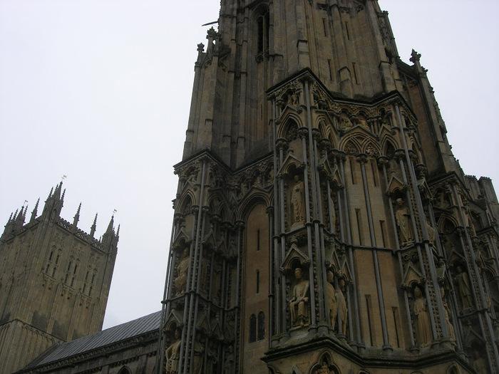 """Собор в Уэльсе - """"самый поэтический из английских Соборов""""- часть 1. 10697"""