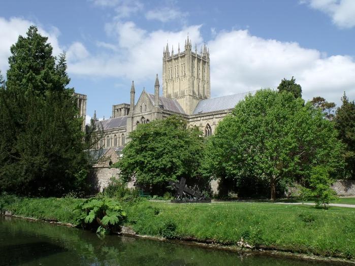 """Собор в Уэльсе - """"самый поэтический из английских Соборов""""- часть 1. 17006"""