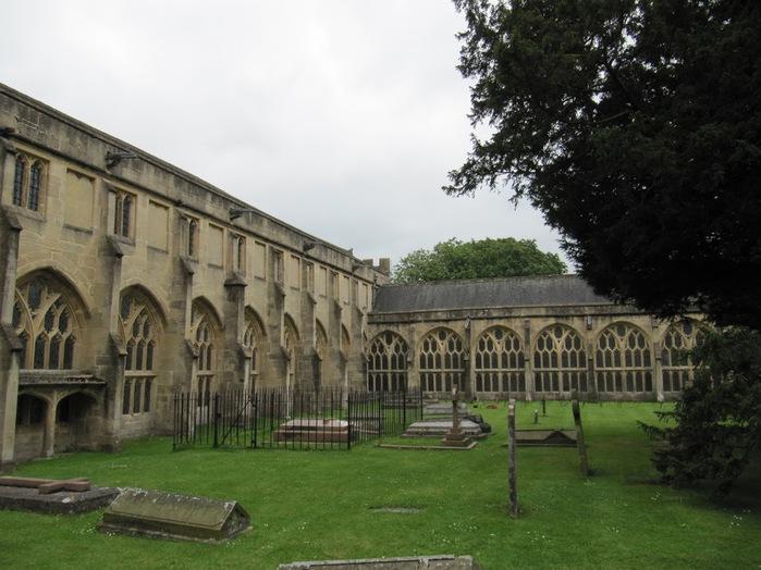 """Собор в Уэльсе - """"самый поэтический из английских Соборов""""- часть 1. 66494"""