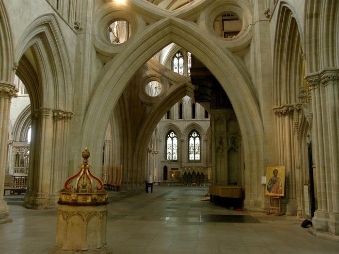 """Собор в Уэльсе - """"самый поэтический из английских Соборов""""- часть 1. 85859"""
