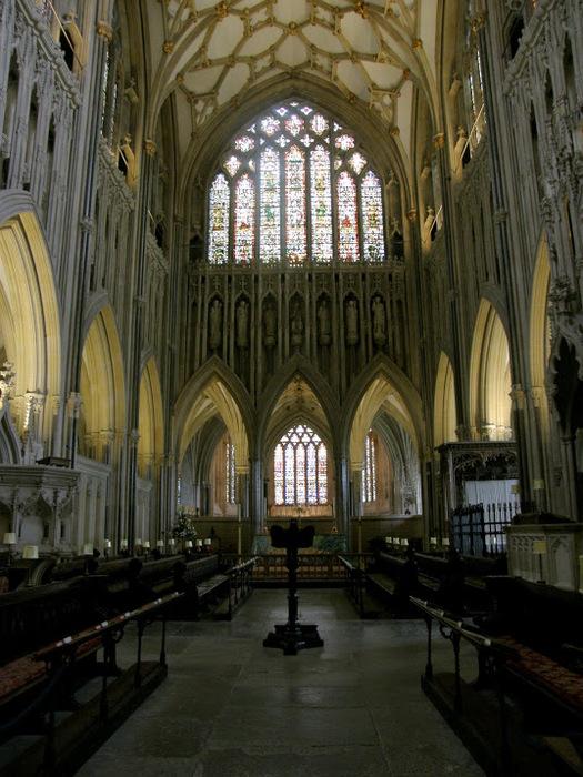 """Собор в Уэльсе - """"самый поэтический из английских Соборов""""- часть 1. 26877"""