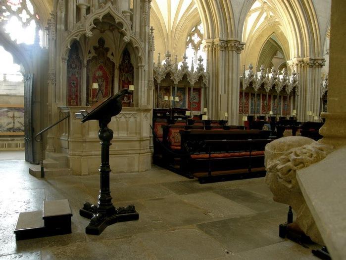 """Собор в Уэльсе - """"самый поэтический из английских Соборов""""- часть 1. 17109"""