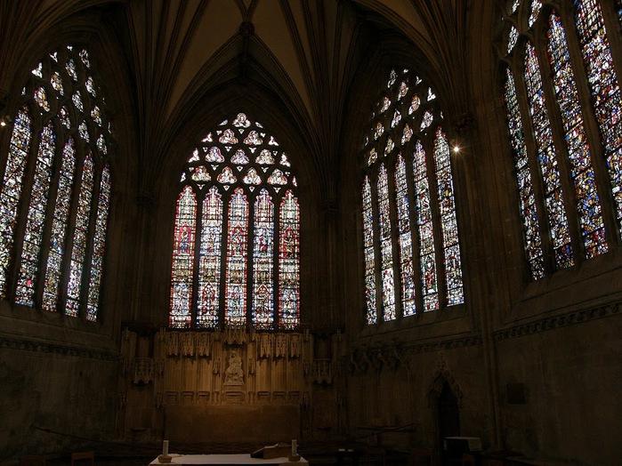 """Собор в Уэльсе - """"самый поэтический из английских Соборов""""- часть 1. 64001"""