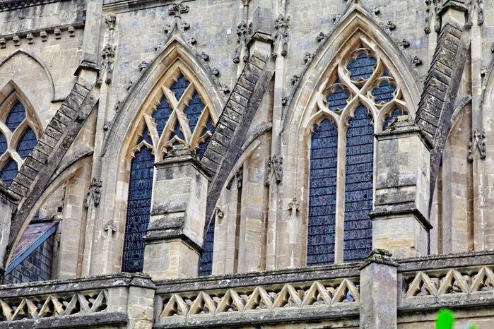 """Собор в Уэльсе - """"самый поэтический из английских Соборов""""- часть 1. 52343"""