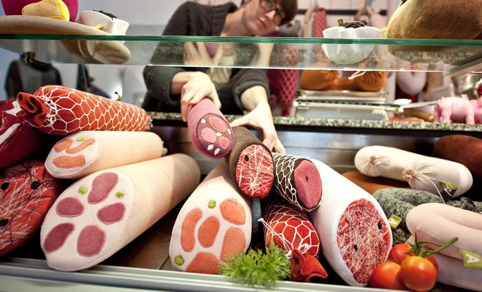 Дизайнерин мясных продуктов из Берлина. 27439