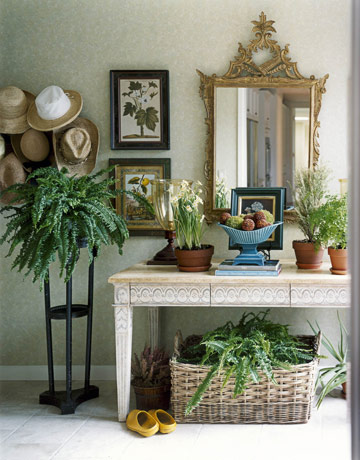 Photo Flip 101 Ways With a Mirror at the Entry  Houzz
