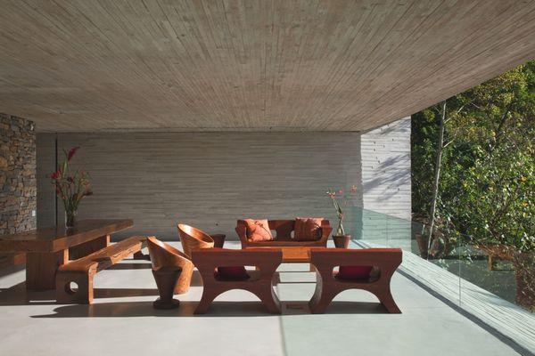 Дом в стиле минимализм Paraty House 9 (600x400, 41Kb)