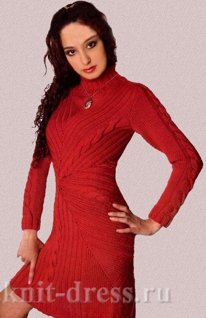 Permalink to Зимнее платье на