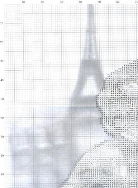 вышивка. парижский поцелуй