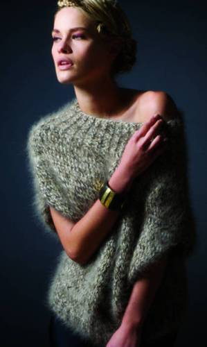 вязаный пуловер (299x500, 16Kb)