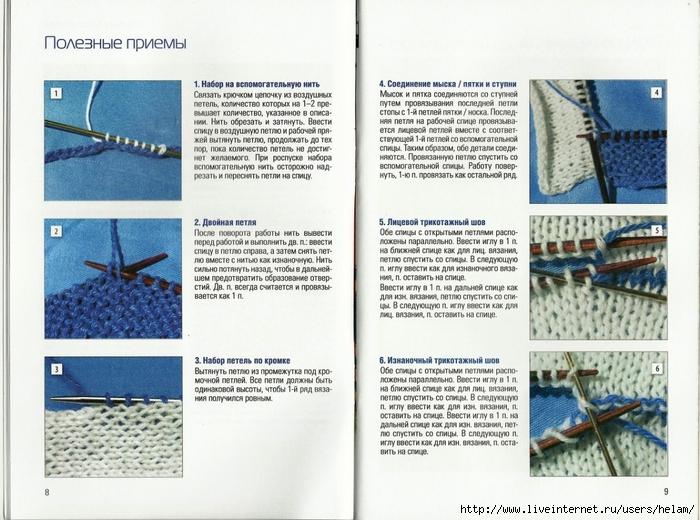 Поворотное вязание спицами модели 93