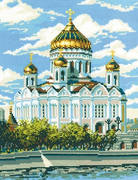 Вышивка. Храм Христа Спасителя